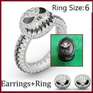 Jack Earring & Ring Set